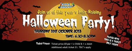 Kidz About Halloween Party Swindon