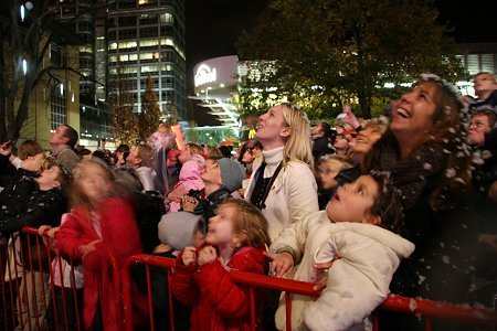 Swindon Town Centre Lights Switch-On