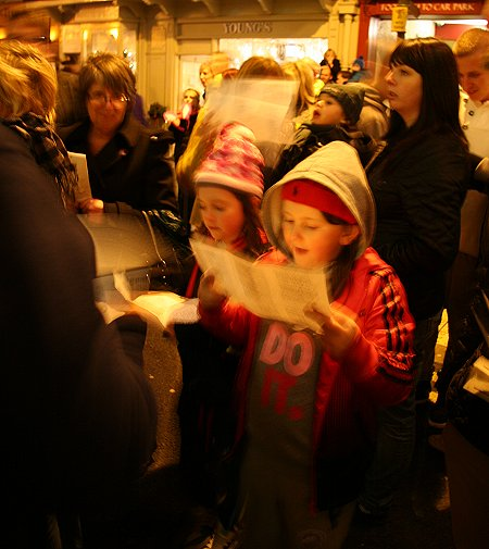 Old Town Swindon Christmas Lights 2011