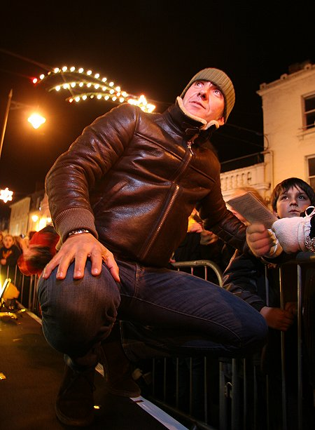 Swindon Old Town Christmas Lights 2011 with Paolo Di Canio