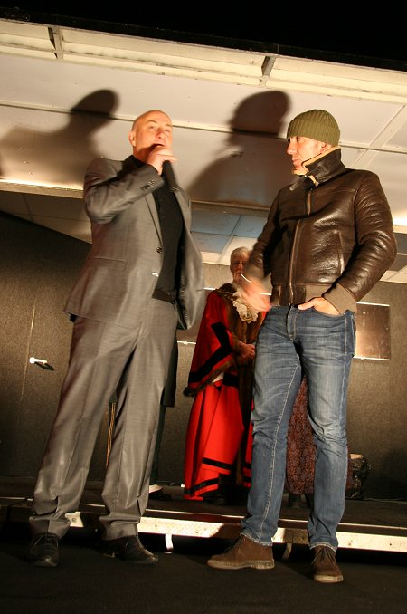 Paolo Di Canio at Old Town Swindon Christmas Lights 2011