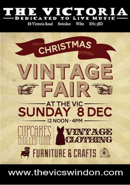 Vintage Fair at The Vic Swindon