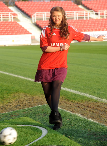 Cinderella proves her skill with the ball! Swindon
