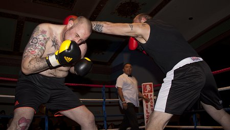White Collar Boxing Swindon