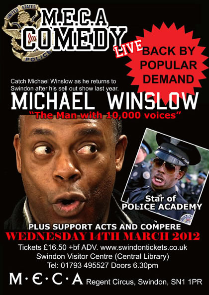 Michael Winslow Swindon 2012