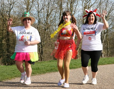 Sport Relief in Swindon at Coate Water