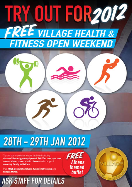 FREE Health & Fitness Open Weekend at De Vere, Swindon