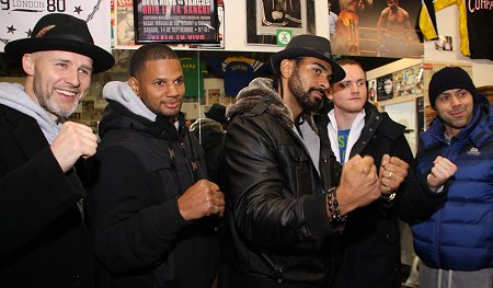 David Haye in Swindon - 28 January 2012