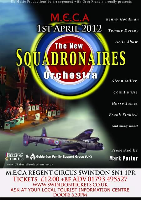 Squadronaires Orchestra at MECA Swindon