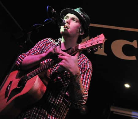 Gaz Brookfield at Baker Street Swindon 2012