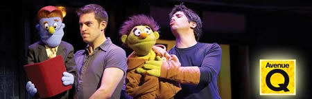 Avenue Q Wyvern Theatre Swindon 2012