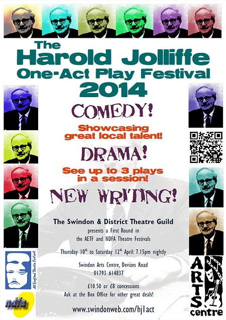 Harold Jolliffe One Act Play Festival at the Arts Centre | SwindonEvent
