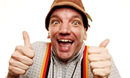 Henning Wehn at the Arts Centre
