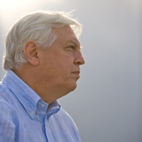 John Simpson in Swindon Arts Centre