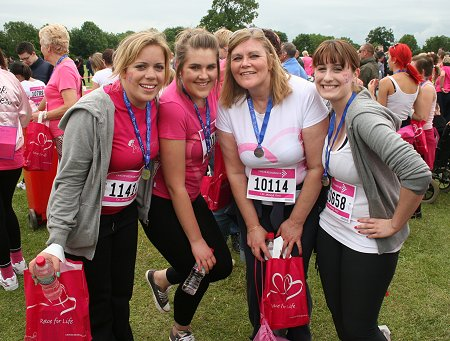 Swindon Race For Life 2012, Lydiard Park
