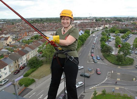 Abseil from Jurys Inn Swindon