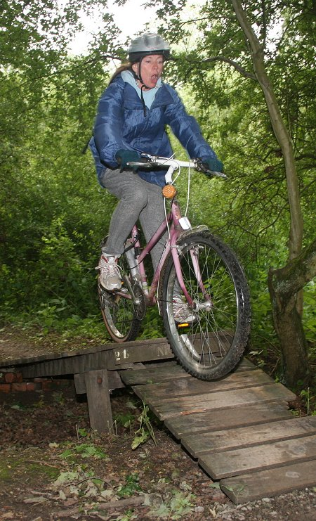 Croft Trail mountain biking Swindon