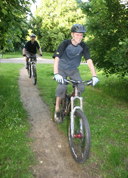 MB Swindon Croft Trail Mountain Biking