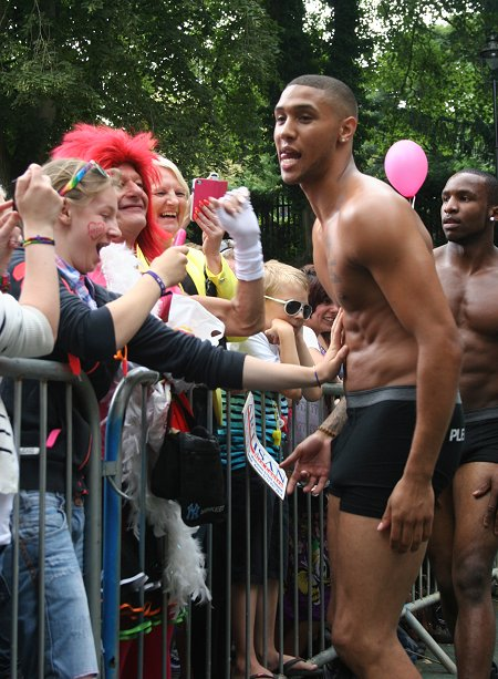 Crowds soak up the sun and entertainment on LBGT's big day of the year in Town Gardens