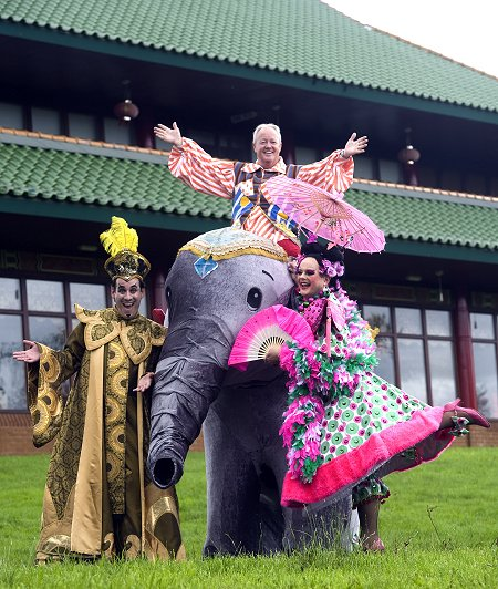 Wyvern panto launch at Hong Xin West Swindon