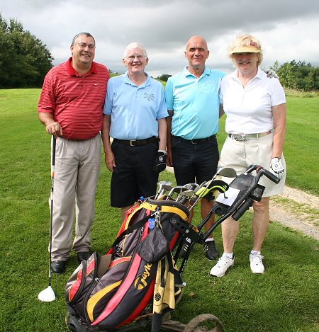 Wiltshire Captains' Team at the Wiltshire Golf Club