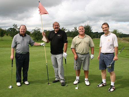 Willie Thorne at The Wiltshire Golf Club