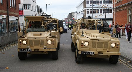 Royal Wiltshire Yeomanry Freedom Parade Swindon