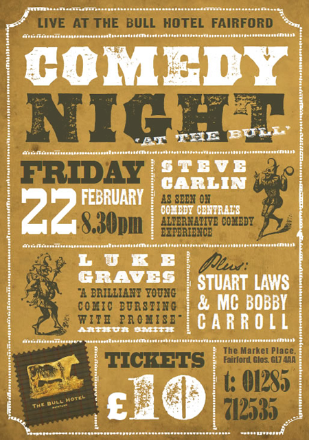 The Bull Hotel Fairford Comedy Night