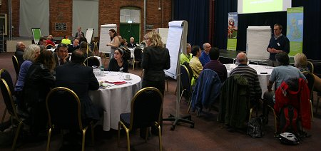 Sustrans Swindon station sustainable transport discussion