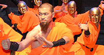 The Shaolin Warriors at Wyvern Theatre