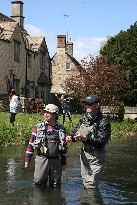 Fly Fishing at Bull Hotel Fairford