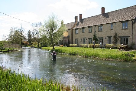 Fly Fishing at The Bull Hotel Fairford