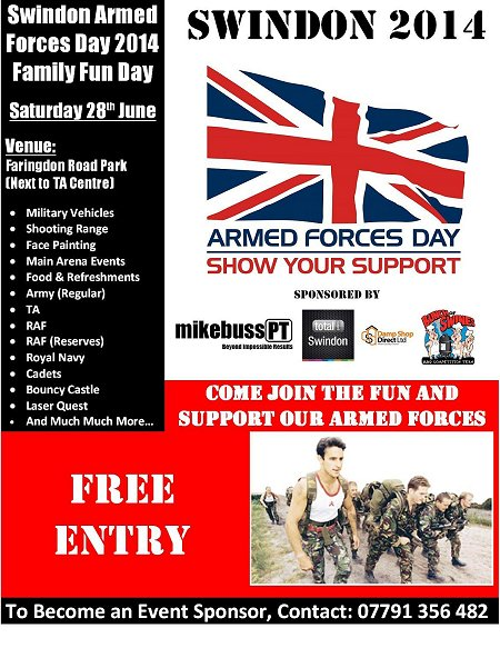 Armed Forces Day Swindon
