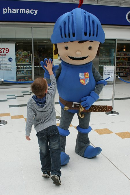 Mike The Knight at The Brunel Centre, Swindon