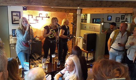 Sister Sister at The Plough, Old Town, Swindon