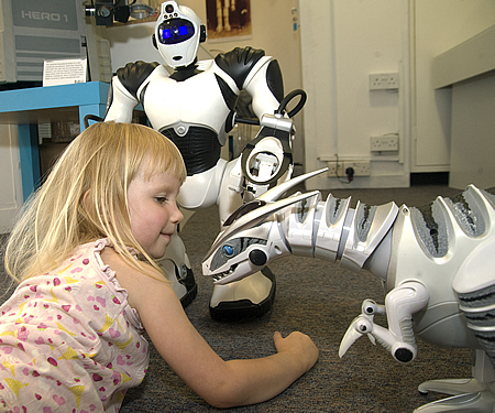 Meet The Robots Swindon Museum of Computing