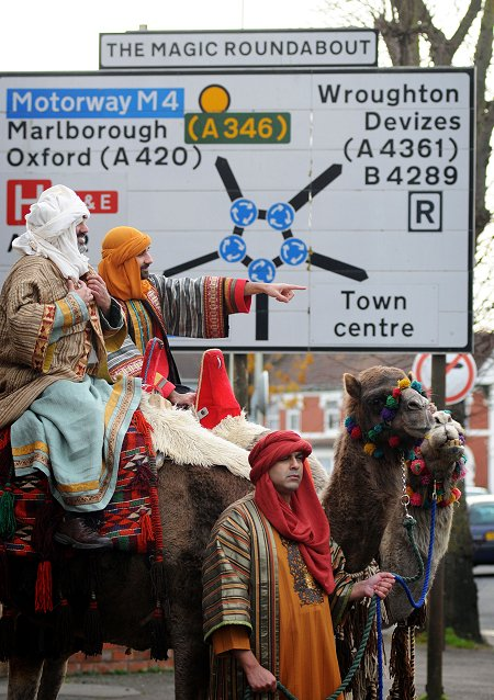 Kings and camels at the Brunel Centre, Swindon