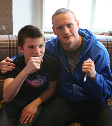 George Groves in Swindon