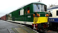 Swindon & Cricklade Railway Diesel