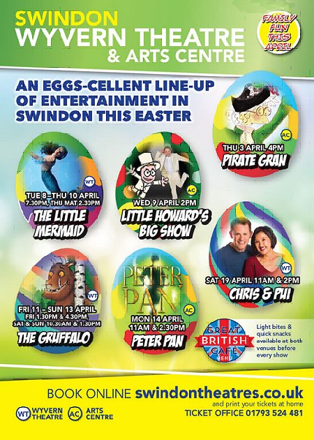 Swindon Theatres Easter Entertainment