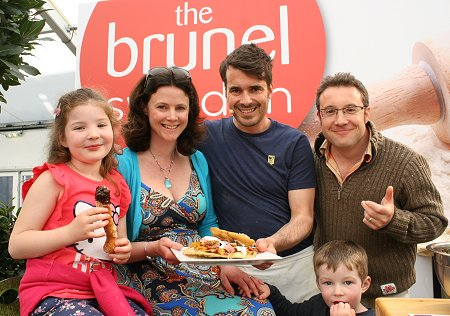 Tom Herbert at Brunel Flour Festival