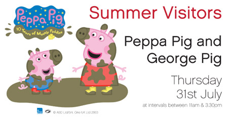 Peppa Pig at The Brunel
