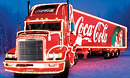 Coca Cola Truck in Swindon