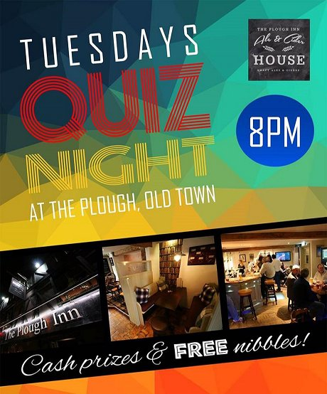 Quiz Night at The Plough, Old Town, Swindon