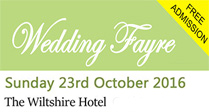 Wedding Fayre at The Wiltshire Hotel