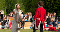 Pride and Prejudice at Lydiard Park
