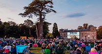 Open Air Cinema at Lydiard House