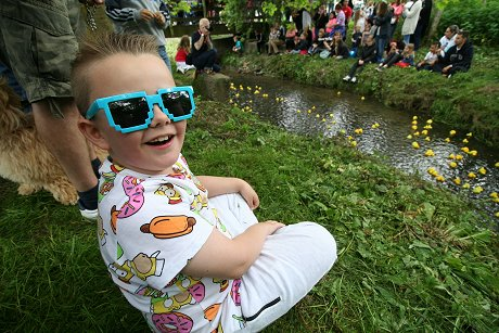 Swindon Duck Race 2016