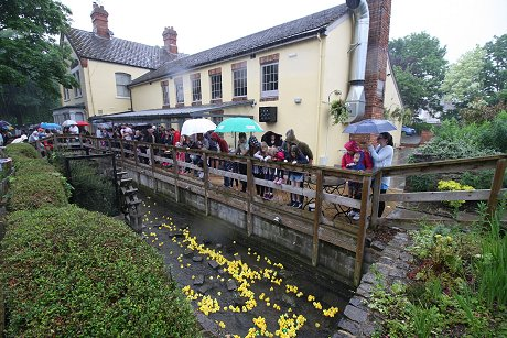 Swindon Duck Race 2017