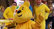 Pedalling For Pudsey at the Swindon Designer Outlet